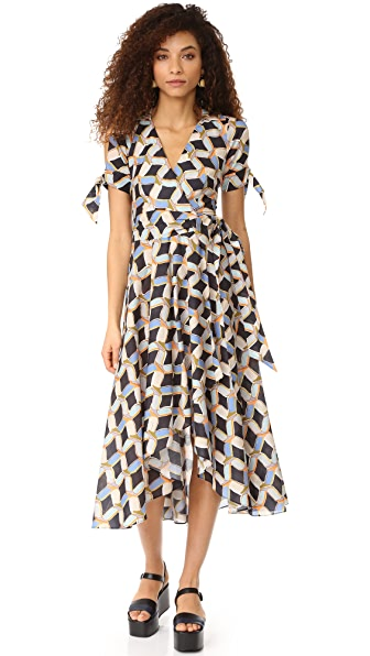 Milly Chain Print Valerie Dress