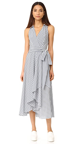 Milly Stripe Brooklyn Dress