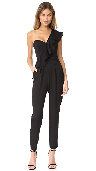 Milly Ruffle Jumpsuit
