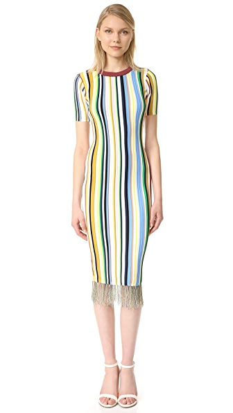Milly Vertical Stripe Dress