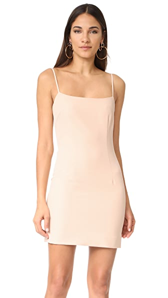 Milly Mini Slip Dress - Nude