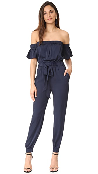 Milly Silk Maxime Jumpsuit at Shopbop