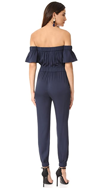 Milly Silk Maxime Jumpsuit