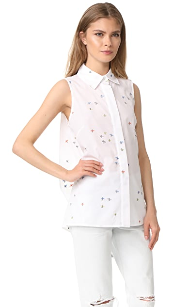 Milly Surfer Coupe Sleeveless Avery Top