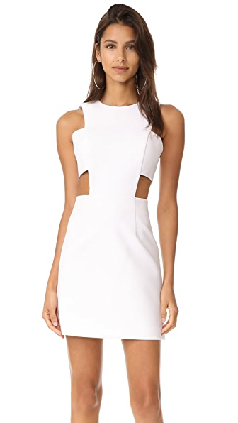 Milly Cutout Mini Dress