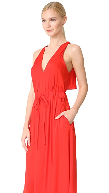 Milly Stretch Silk Reese Dress
