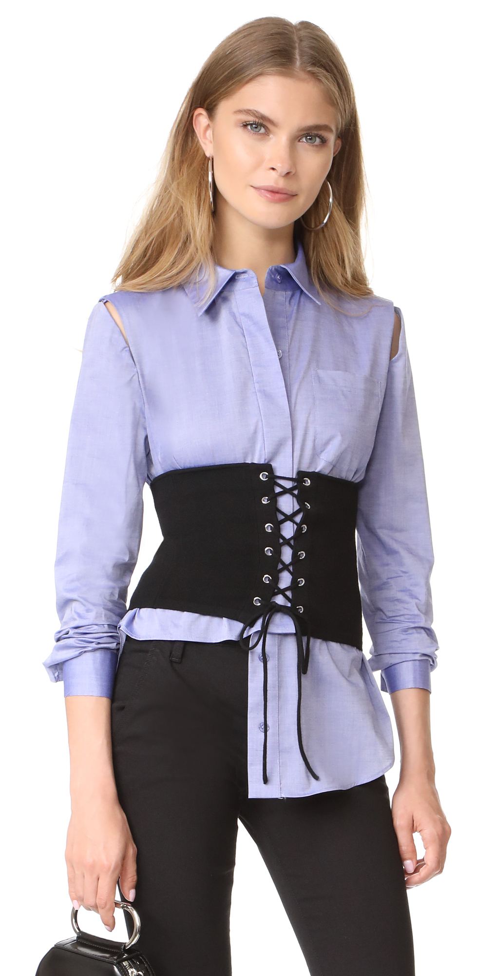 Lace Up Knit Corset Milly