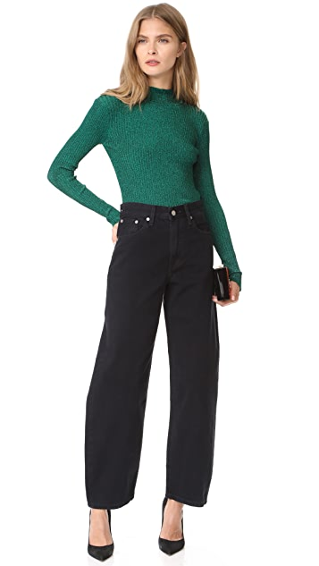 Milly Stardust Ribbed Pullover