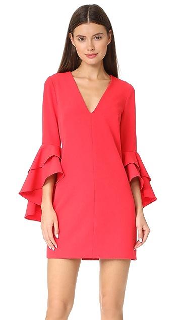 Milly Cady Ruffle Dress