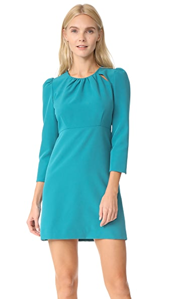 Milly Cady Emma Dress - Teal