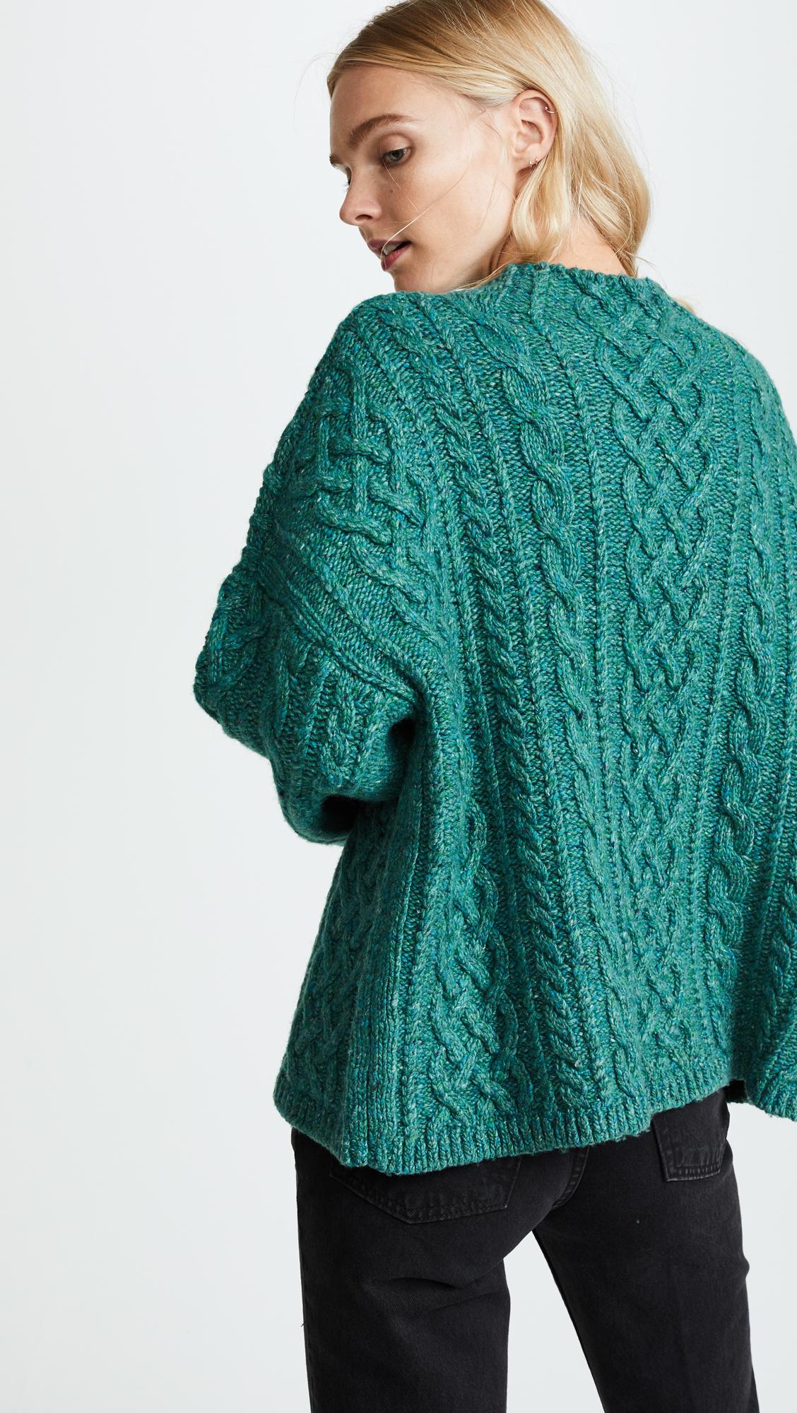 44e93e9bec6e Milly Oversized Fisherman Sweater