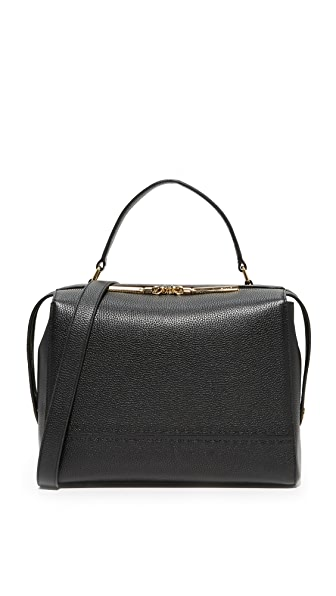 Milly Large Satchel - Black