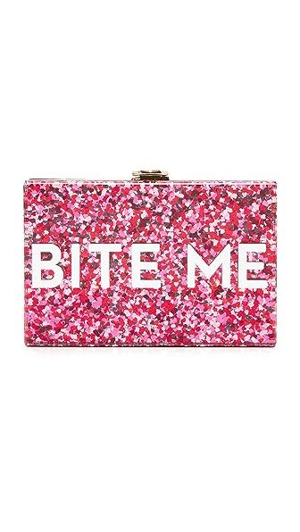 Milly Glitter Bite Me Clutch - Glitter