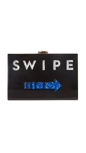 Milly Swipe Box Clutch