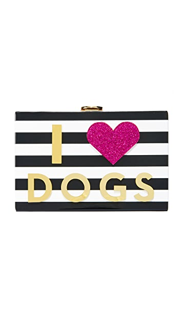 Milly Клатч I Heart Dogs & Cats