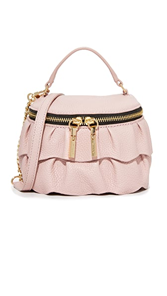 Milly Ruffle Top Zip Cross Body Bag