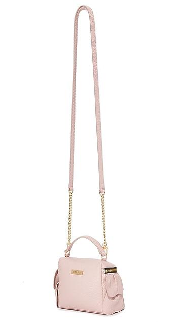 Milly Ruffle Top Zip Cross Body Bag
