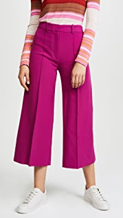 Milly Italian Cady Cropped Hayden Pants