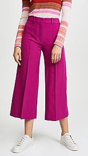 Milly Укороченные брюки Italian Cady Hayden