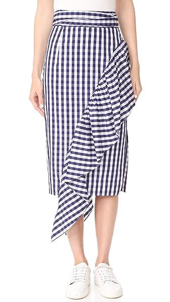 Milly Cascade Skirt