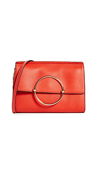 Milly Astor Shoulder Bag In Vermillion