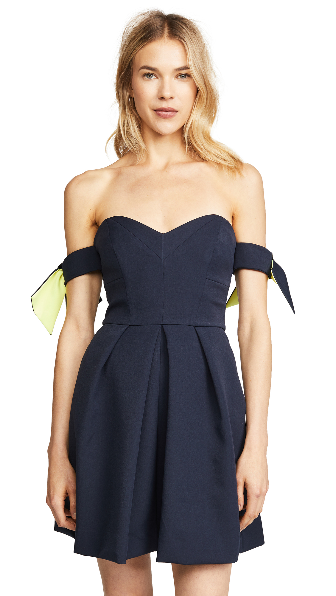 Milly Gia Dress In Navy