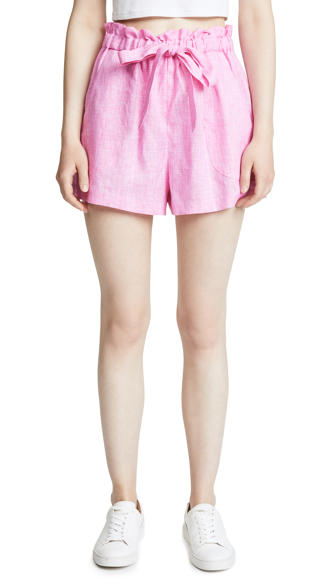Milly Kori Shorts In Pink