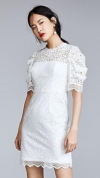 White Long Cocktail Dresses