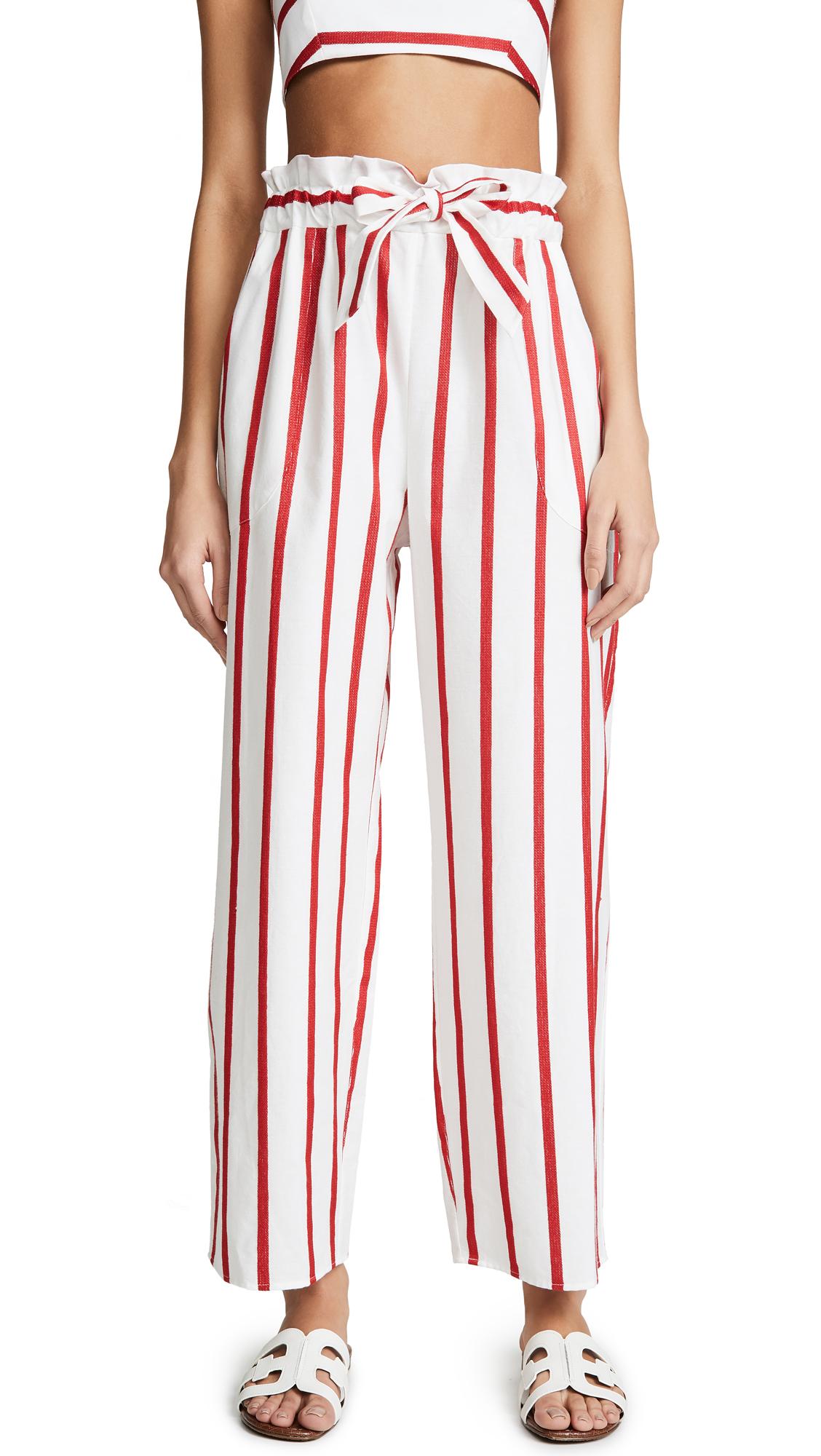 Kori Pants in Red