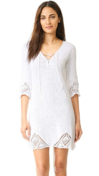 MINKPINK Knot Me Dress - White