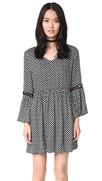 MINKPINK Game Time Baby Doll Dress
