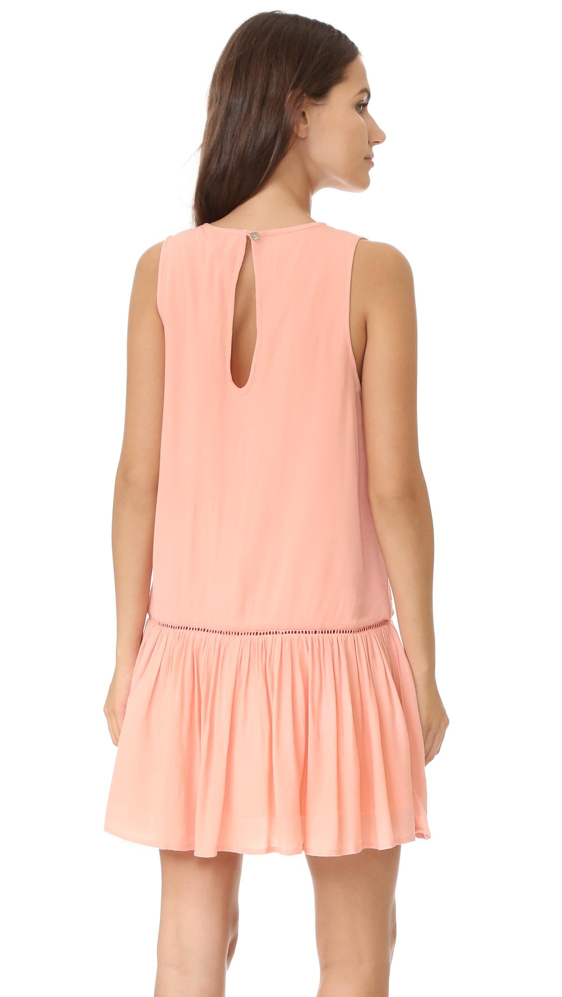 da6454e810 MINKPINK Blushing Beach Drop Waist Dress | SHOPBOP