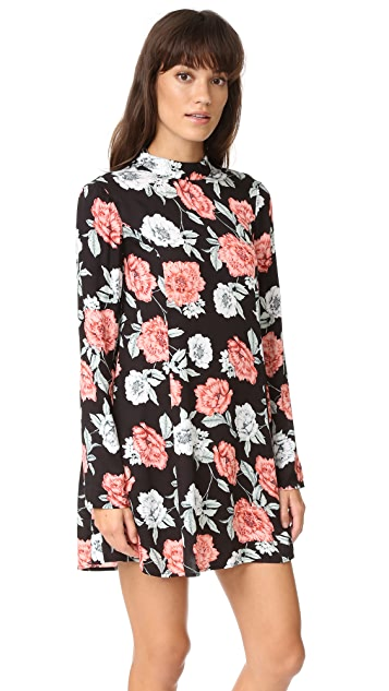 MINKPINK Garden Of Eden Tunic Dress