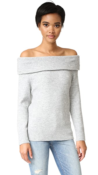 MINKPINK Sunder Off Shoulder Sweater