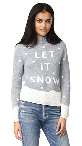MINKPINK Let It Snow Intarsia Sweater