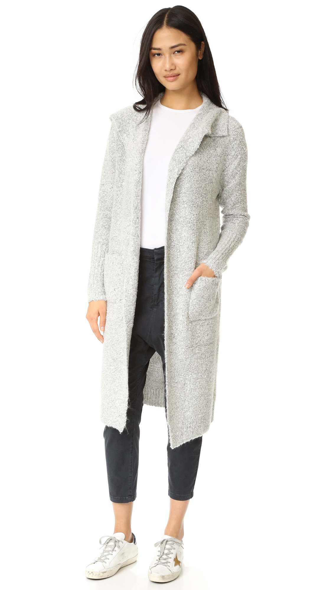 MINKPINK Looped Out Waterfall Cardigan | SHOPBOP