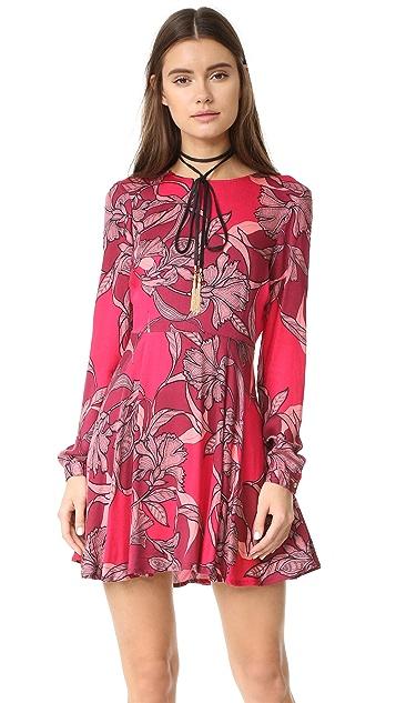 MINKPINK Femme Fatale Backless Dress