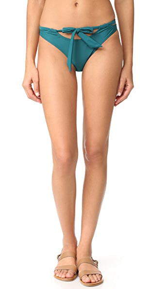 MINKPINK Oceans Cheeky Bottoms - Dark Teal