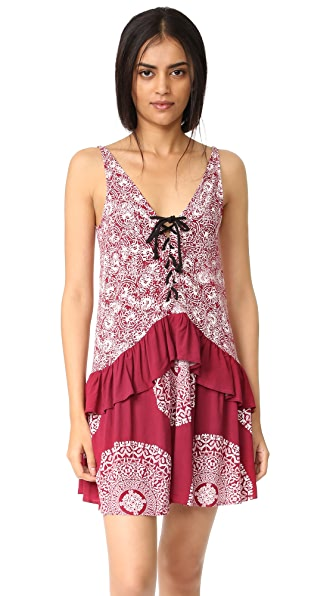 MINKPINK Mandala Wonder Lace Front Dress