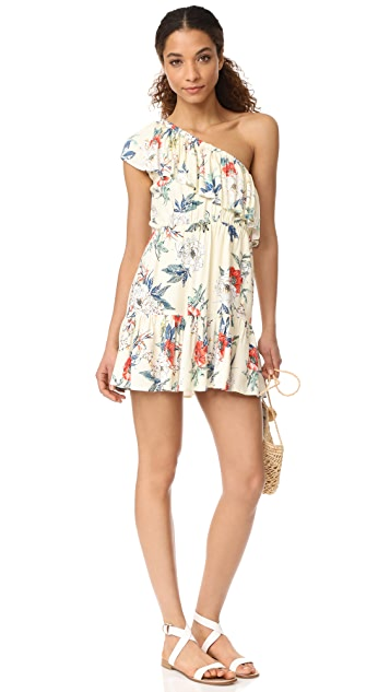 MINKPINK Garden Party One Shoulder Dress