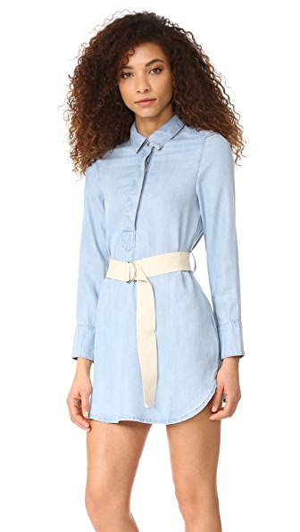 MINKPINK Clean Cut Shirtdress