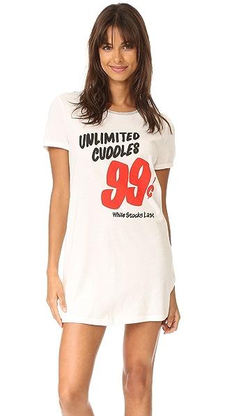 MINKPINK Пижамное платье Unlimited Cuddles