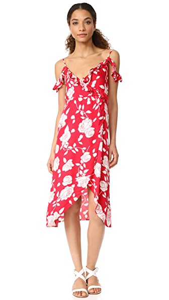 MINKPINK x Disney Enchanted Midi Wrap Dress