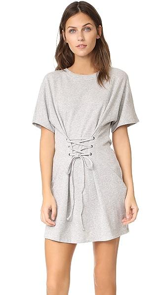 MINKPINK Corset Mini Dress In Grey Marle