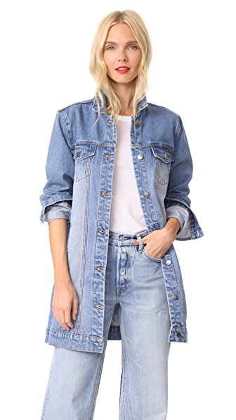 MINKPINK Mina Tunic Denim Jacket