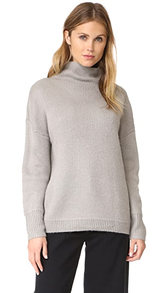 MINKPINK Florentine Funnel Sweater In Grey