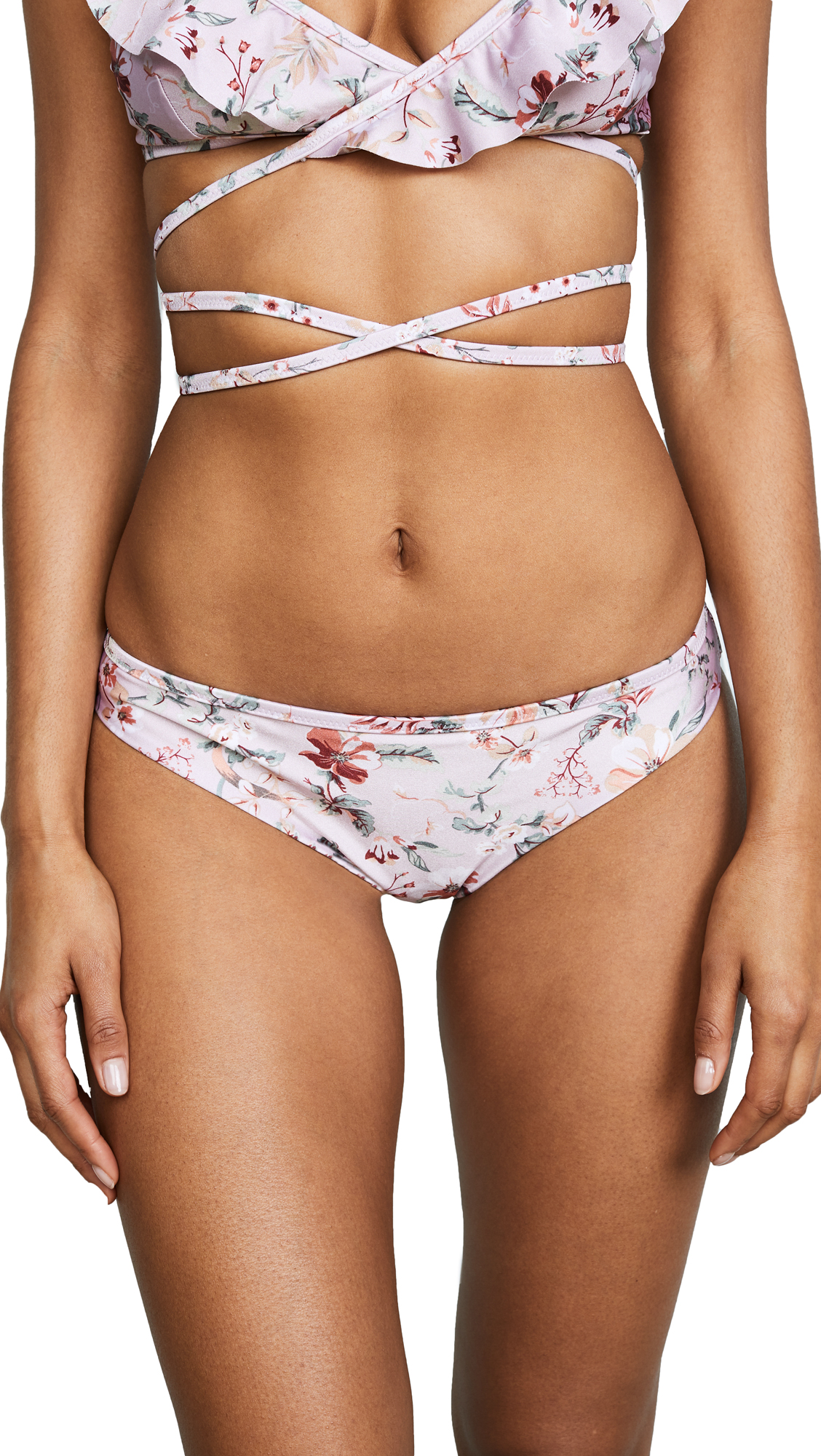 MINKPINK Summer Meadow Frill Bottoms