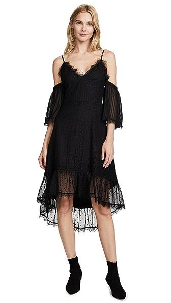 MINKPINK Dark Romance Dress In Black