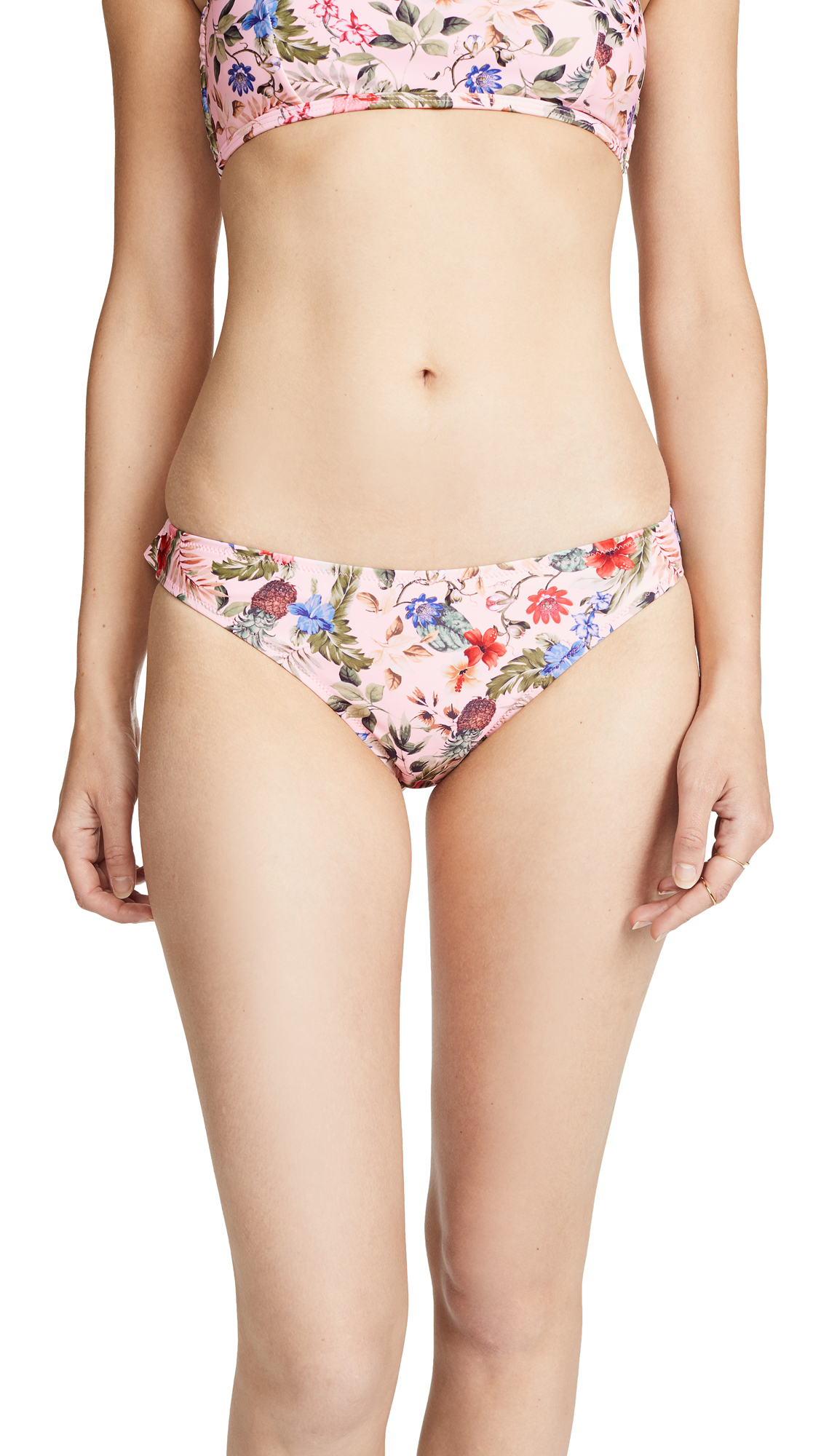 MINKPINK Aloha Frill Swim Bottoms in Multi