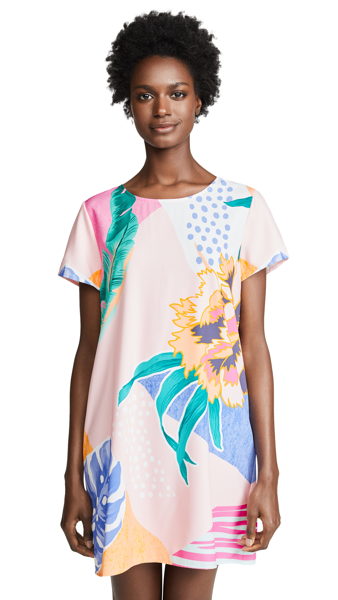 MINKPINK Idea of Happiness Tee Dress